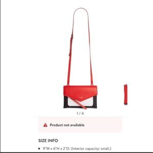 Givenchy Duetto Tricolor Crossbody bag